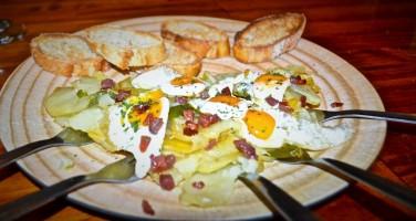 Huevos Rotos con Jamon   Traditional Spanish Dish