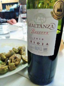 wine & tapa tasting in Northern Spain, lealtanza, rioja, La Rioja