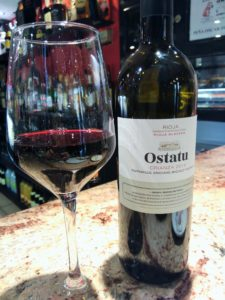 wine & tapa tasting in Northern Spain, Ostatu, rioja, La Rioja